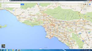 california map hd los angeles california map