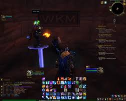 a guild mate showed me a secret room in orgrimmar who is wkm wow
