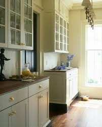 dishy butler pantry cabinets with pendant light white countertop