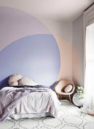 Best Colorblocked Walls Images On Pinterest Painting - Bedroom paint and wallpaper ideas