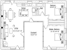 u shaped floor plans with courtyard house inspiration u shaped house plans with courtyard u shaped