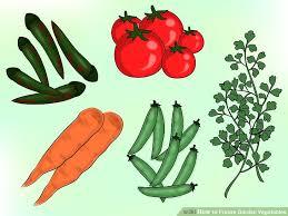 4 ways to freeze garden vegetables wikihow