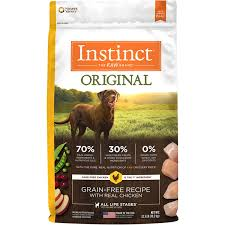 nature u0027s variety instinct grain free dry dog food