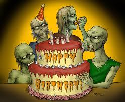 Zombie Birthday Meme - happy birthday zombies color by gleamofdreams on deviantart