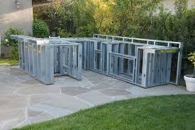 Building Outdoor Kitchen With Metal Studs - metal stud outdoor kitchen plans how to build an outdoor kitchen