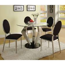 Best Glass Dinette Images On Pinterest Dinette Sets Dining - Modern kitchen table chairs
