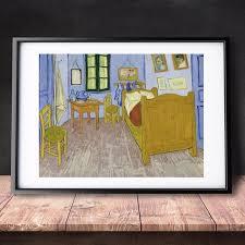 la chambre de gogh à arles gogh chambre à arles 1889 toile imprimer peinture affiche