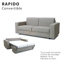 canape lit 160 canape convertible 160 affordable canape couchage quotidien canapac