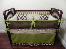 Custom Crib Bedding Sets Custom Crib Bedding Set Baby Boy Bedding Brown