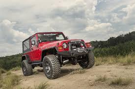 jeep lifestyle hurricane fender flare kit textured black 97 06 jeep wrangler tj