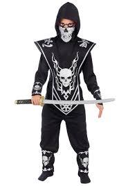 eskimo halloween costume boys death ninja costume child scary ninja halloween costumes