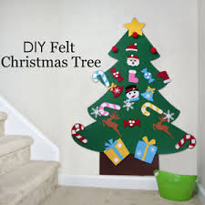 felt tree ornament door wall hanging craft toddler child