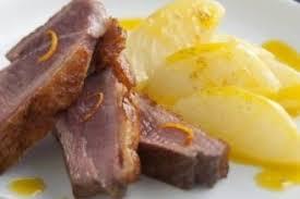navet cuisine recette de filet de canette et navets glacés à l orange et au