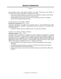 Entertainment Industry Resume How To List Your Qualifications On A Resume Employment Channel