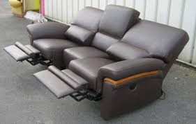 canapé cuir relax 3 places techni salons nos travaux récents