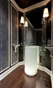 Modern Powder Room 85 Best Washroom Images On Pinterest Bathroom Ideas