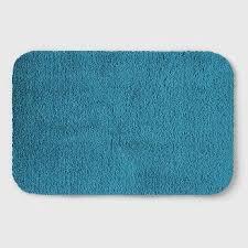 Teal Bathroom Rugs Bathroom Rugs Mats Target
