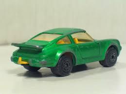 porsche matchbox porsche 911 turbo 3 verde met