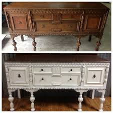 painted antique buffet before and after webster u0027s chalk paint