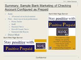 prepaid account configuring and marketing a checking account as a companion card