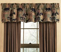 smoky mountain tapestry valance familyroom valances pinterest