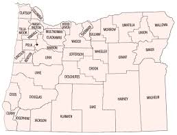 map of oregon with counties map of oregon counties