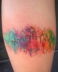 the 25 best seattle skyline tattoo ideas on pinterest seattle
