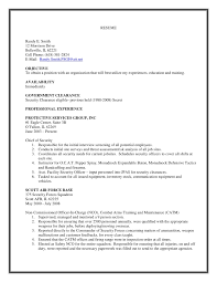 Security Officer Sample Resume by Air Force Security Forces Resume Examples Contegri Com