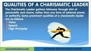 charismatic leadership leadership skills