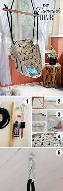 Room Decor Diys 75 Cool Diy Projects For Teenagers Hammock Chair Organizations