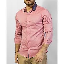 light pink color buy light pink color men casual cotton shirt kafs 22 fifth
