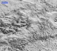 Bad Lands Pluto U0027s U0027badlands U0027 Nasa