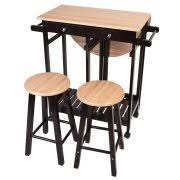 rolling kitchen island table kitchen islands carts walmart com