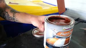 duplicolor paintshop car paint burnt orange youtube
