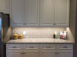 what size subway tile for kitchen backsplash modern kitchen backsplash gray glass subway tile shower awesome