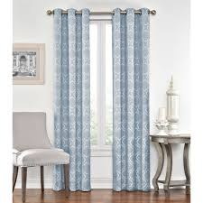 108 In Blackout Curtains by Reese Window Curtain Panel 1 Pair Walmart Com