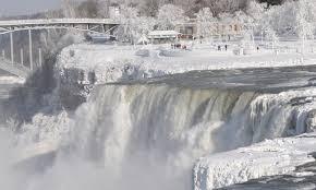 niagara falls frozen photography