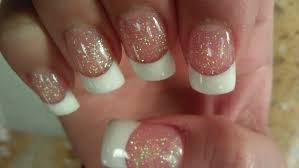 solar nails pink u0026 white part 1 youtube
