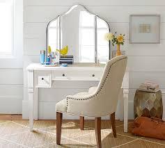 Vanity Desk Mirror Maisie Vanity Mirror Pottery Barn