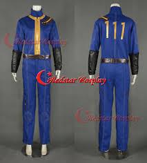 fallout vault jumpsuit fallout vault jumpsuit with 111 costume ebay