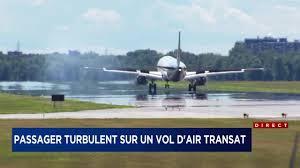 selection siege air transat un avion d air transat fait demi tour tva nouvelles