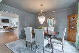 Benjamin Moore Chelsea Gray Kitchen by Renovated 1950s Cottage Gets Light Bright Custom Makeover