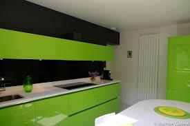 cuisine laquee leicht couleur verte