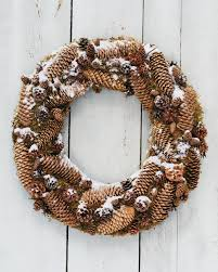 frosted pinecone wreath norway spruce pinecone and wreaths