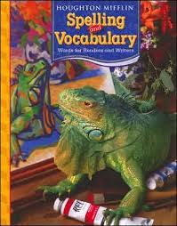 houghton mifflin spelling and vocabulary consumable student book