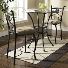 glass counter height table sets dining tables amazing tall round dining table counter height table