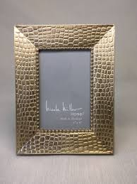 4x6 nicole miller home silver gold metallic picture frame what u0027s