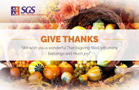 celebrate thanksgiving day with sgs sgs technologie