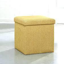 Yellow Ottoman Storage Upholstered Ottoman With Storage Yoit Me