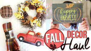 fall home decor haul 2017 fall decor haul from hobby lobby